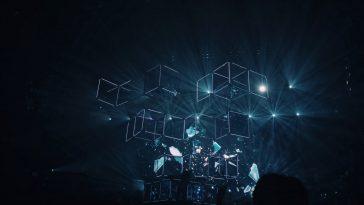 geometric shape digital wallpaper